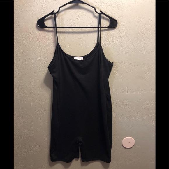 NWT Love J Size 1X Black body suit